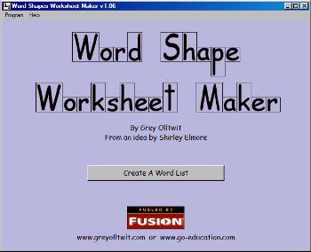 Worksheets Worksheet Maker Free free word shape worksheet maker maker